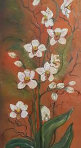 ציור סחלבים לבנים